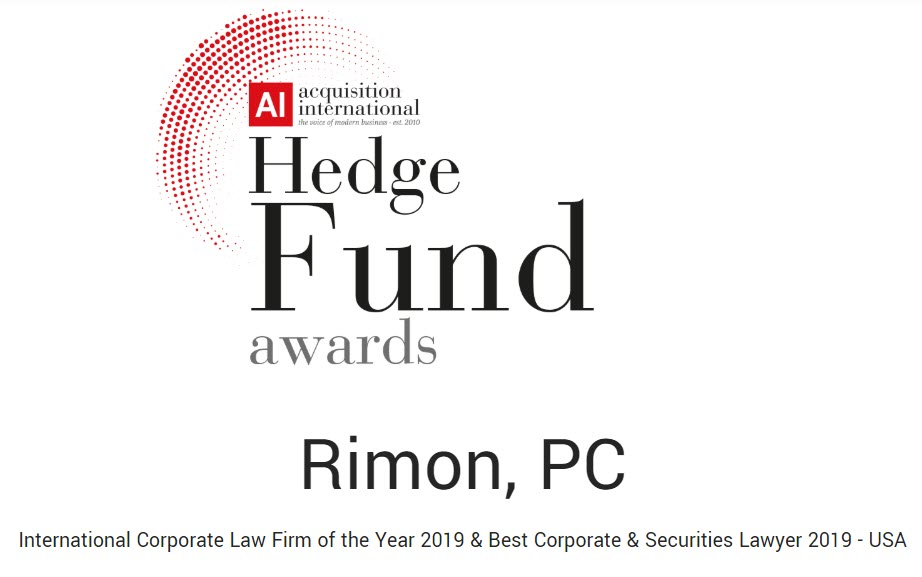 Rimon Named International Corporate Law Firm of the Year by