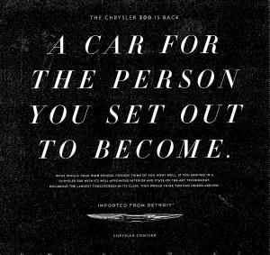 Chrysler 300 Ad Wall St Journal 300x283