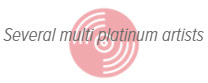 Several Multi Platinum Artists